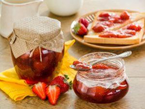 Рецепты клубничного варенья пятиминутка
