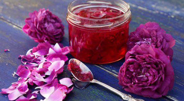Варенье из чайных роз