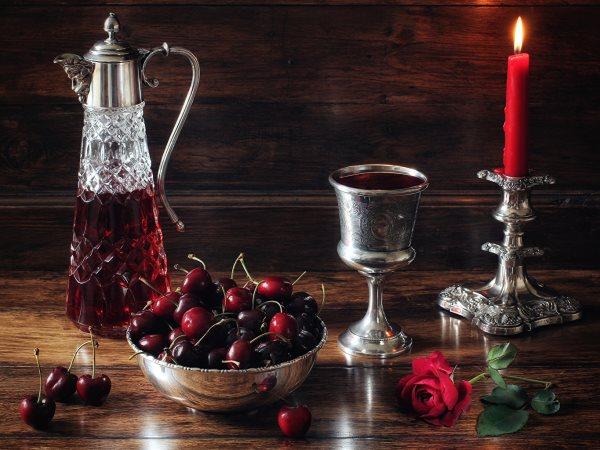 Домашнее вино из черешни